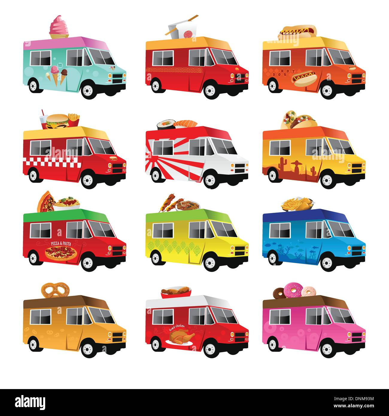 Bank Bloq Van Design On Stock.Taco Truck Stock Photos Taco Truck Stock Images Alamy