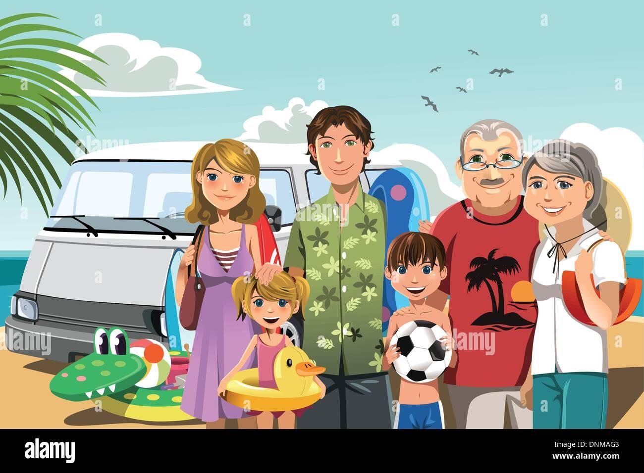 nuclear family illustration stock photos nuclear family