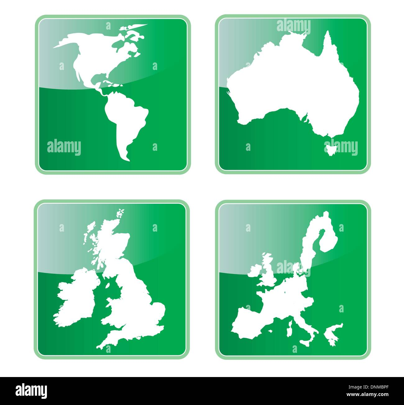 Map Of America Over Australia.Icon Showing Map Of North And South America Australia Great Britain