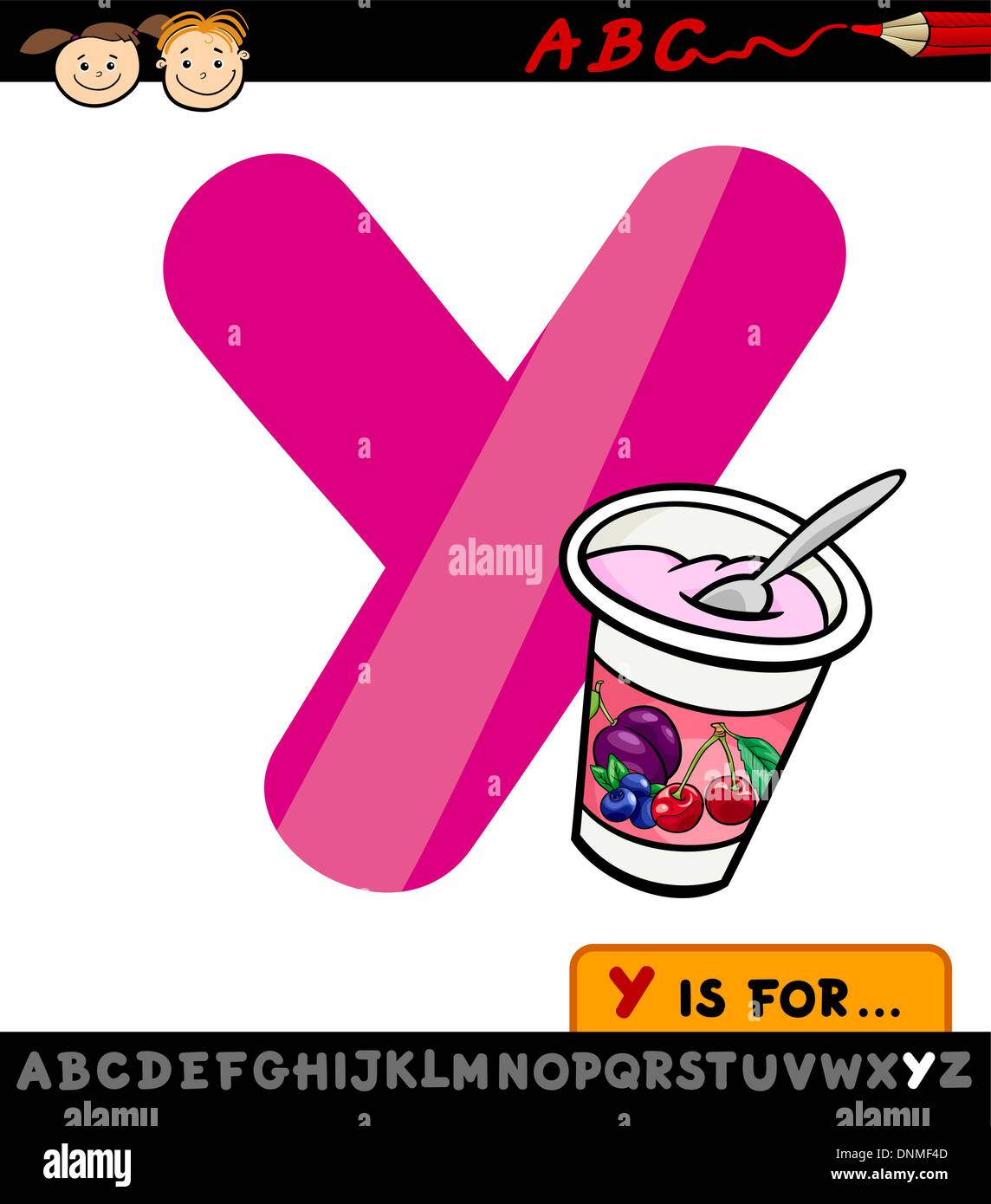 Cartoon Letter Y Stock Photos & Cartoon Letter Y Stock Images - Page ...