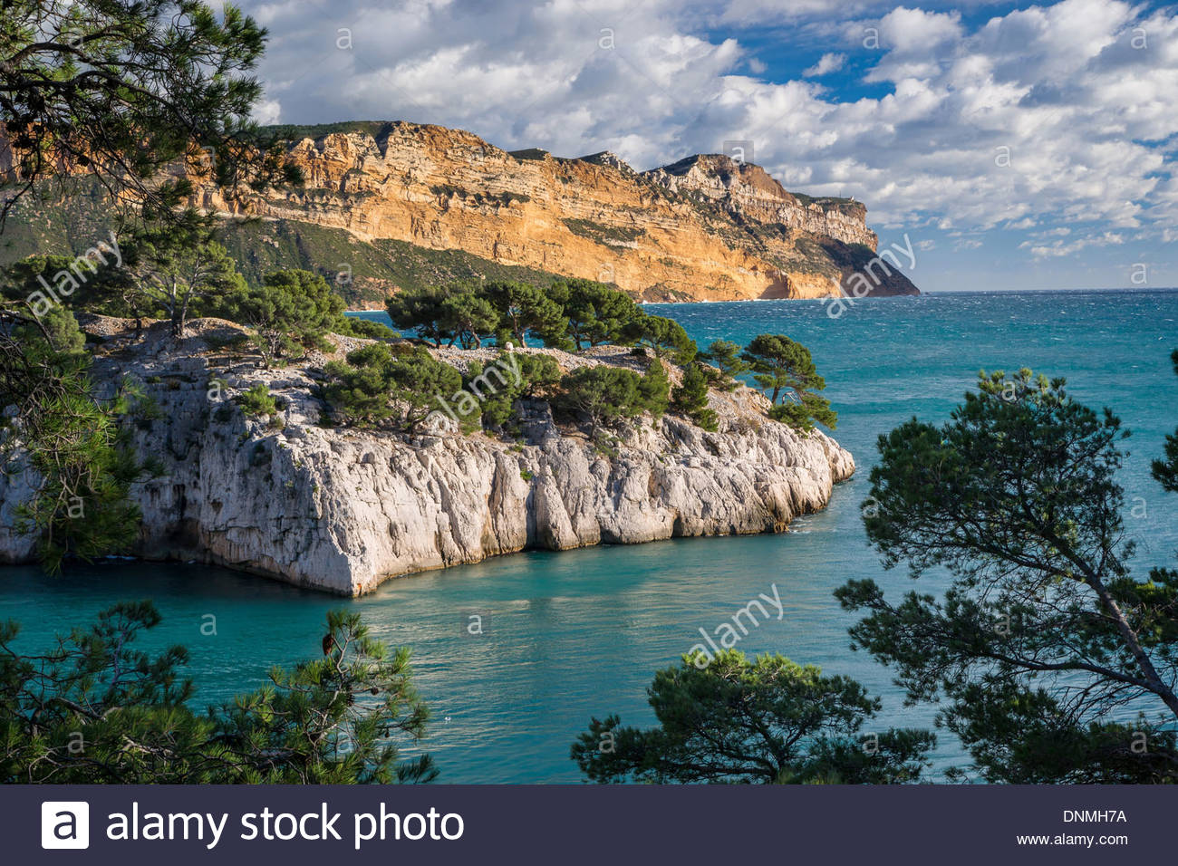 Port Miou In The Calanques De Cassis National Park And Cap