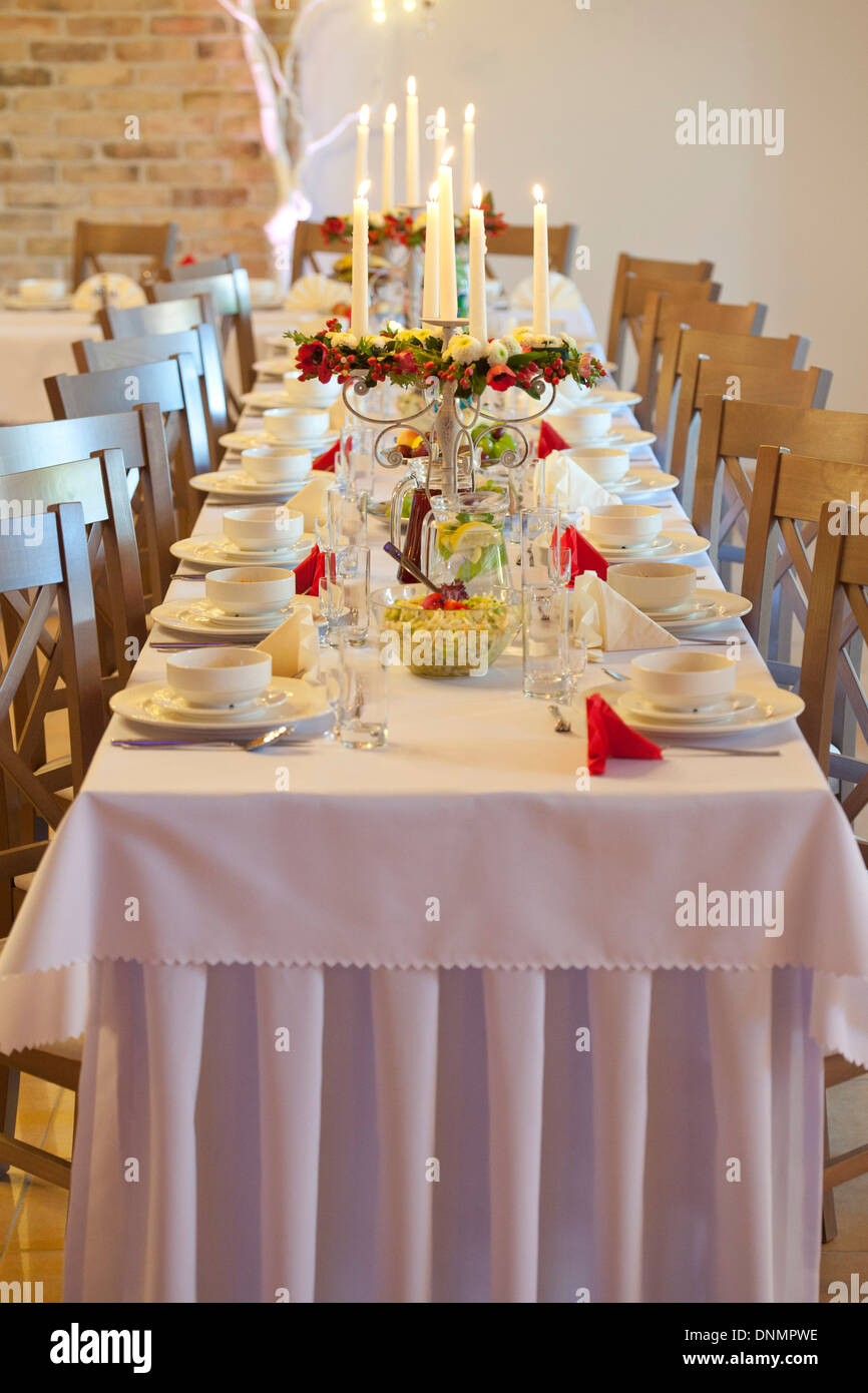 Wedding Table Settings Stock Photos & Wedding Table Settings Stock ...