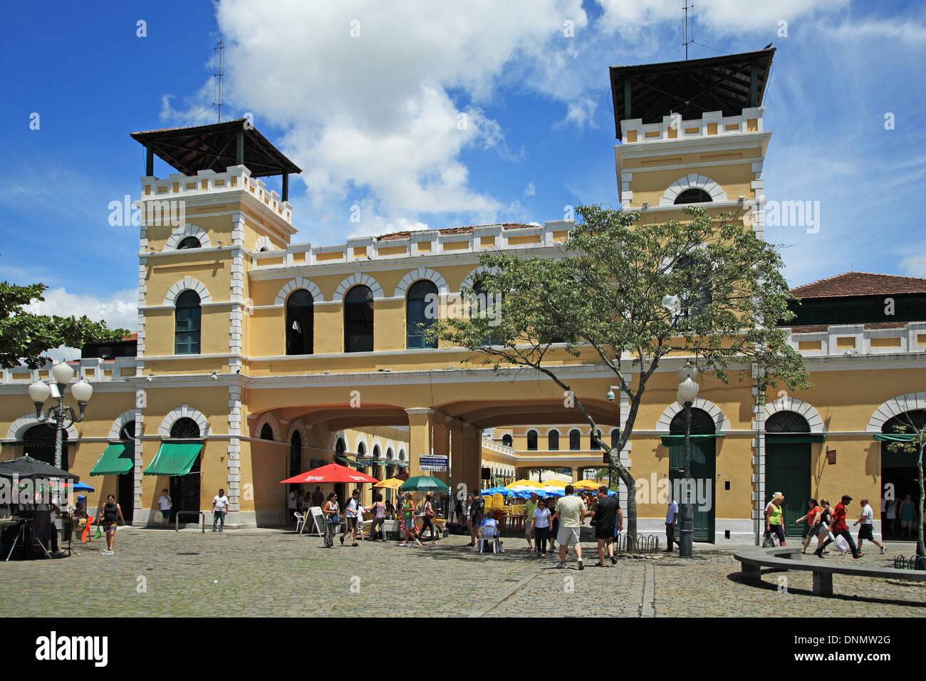Brazil, Santa catarina, Florianopolis, Municipal Public Market - Stock Image
