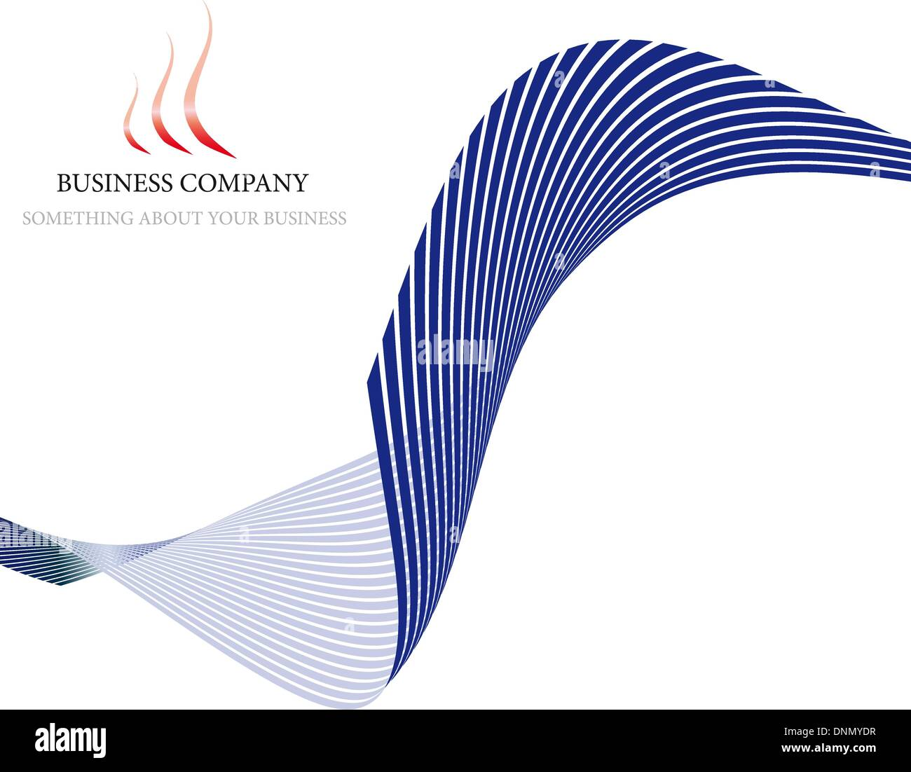Abstract vector corporate background for design use - Stock Image