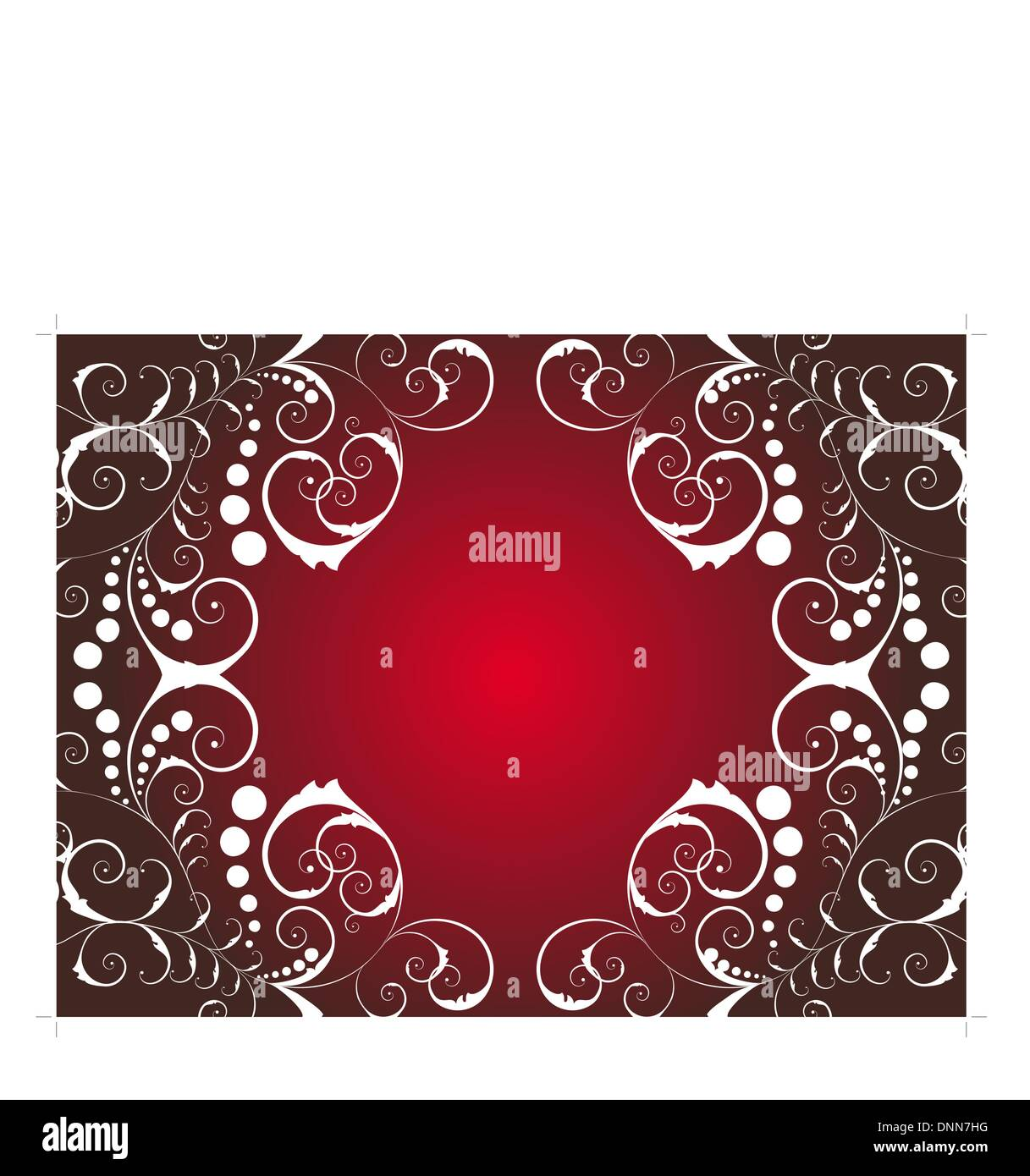 Christmas (New Year) background ornate. Vector background. - Stock Vector