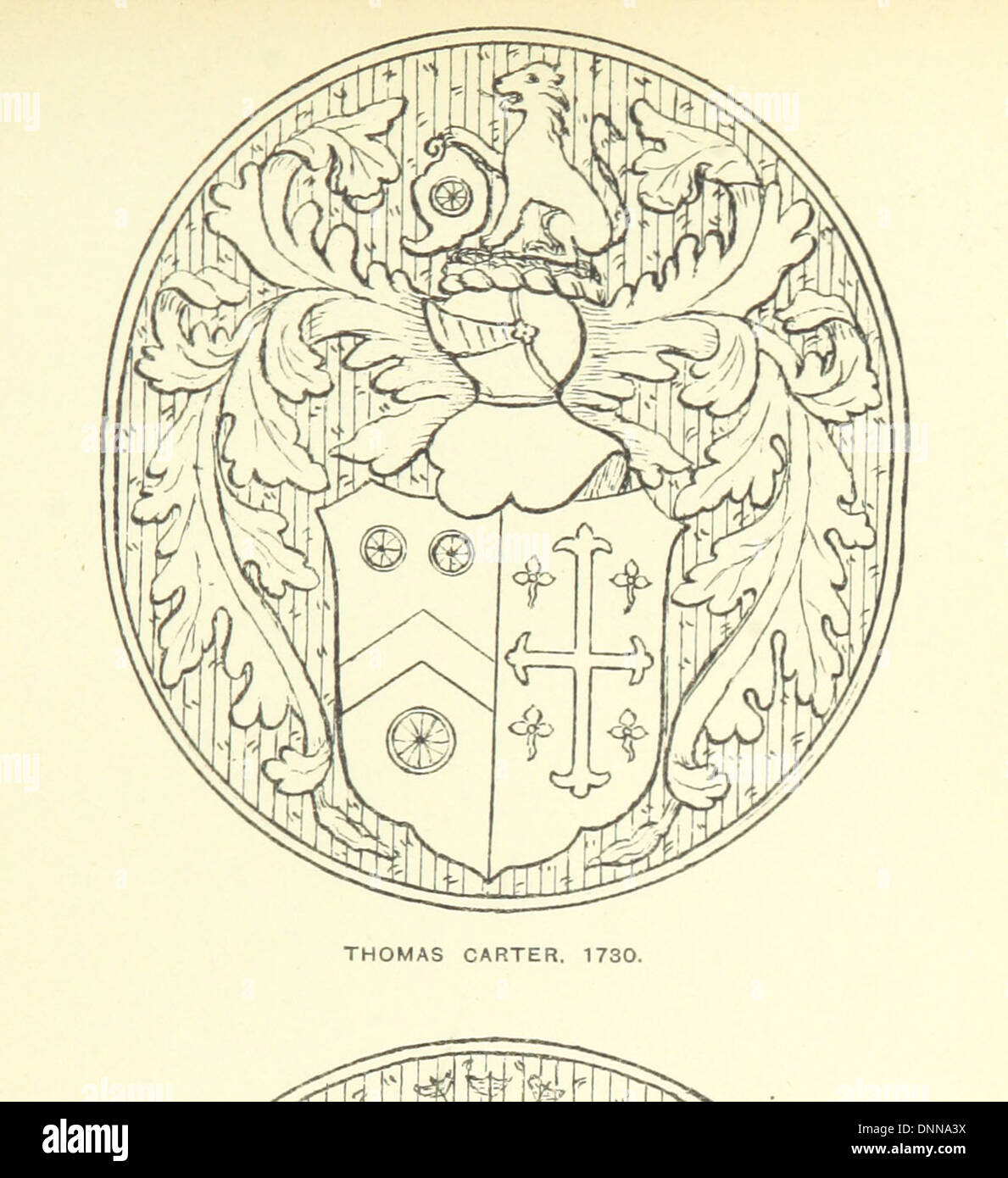 The Church Heraldry of Norfolk: a description of all coats of arms on brasses, monuments, etc., now to be found in the county. I - Stock Image