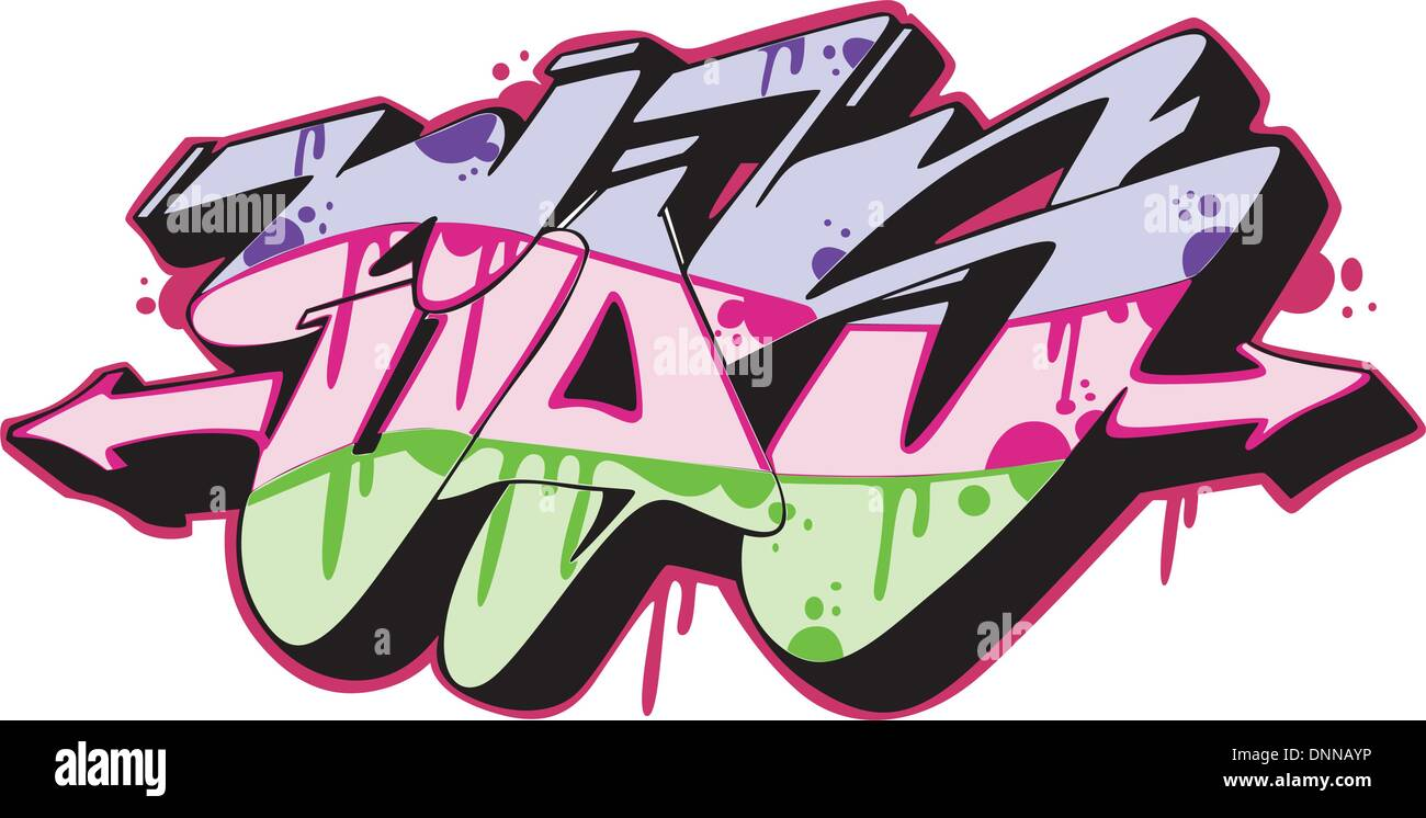 Graffiti Artwork Urban Cut Out Stock Images & Pictures - Alamy