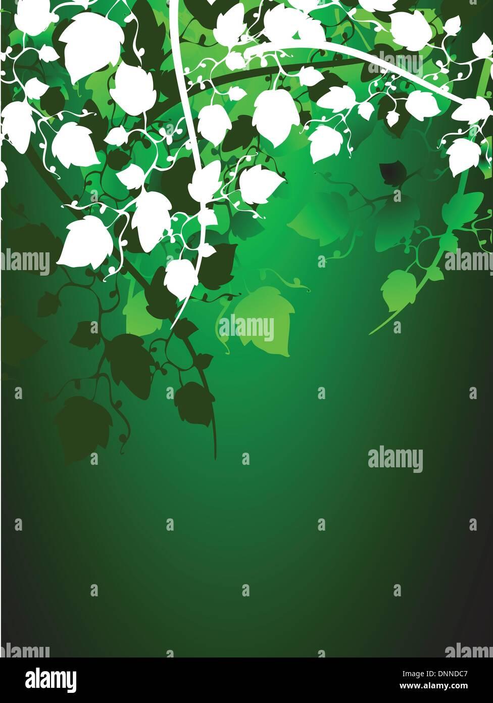 Foliage background - Stock Image