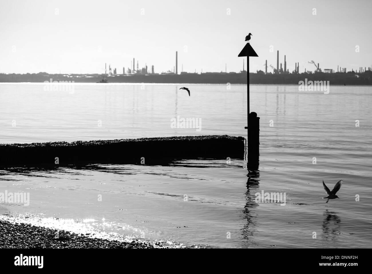 Weston Shore Southampton - Stock Image