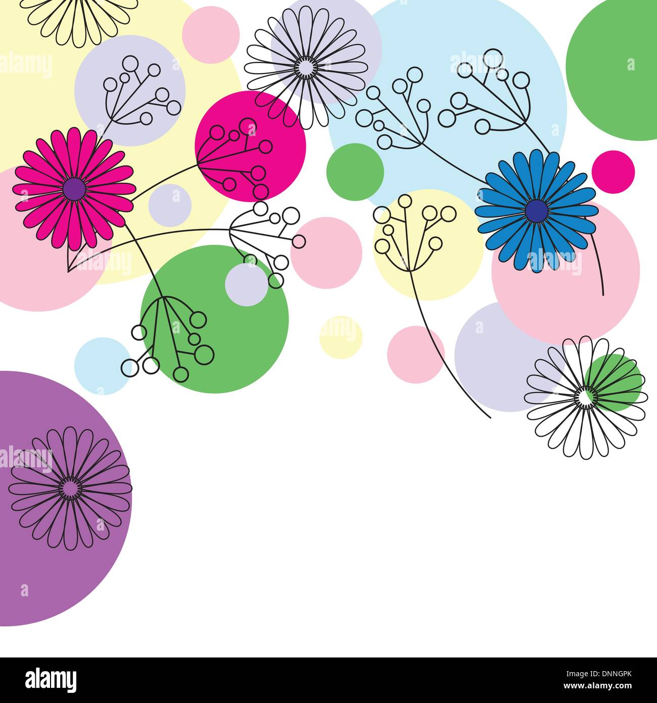 Cute background on festivity occasion - Stock Image