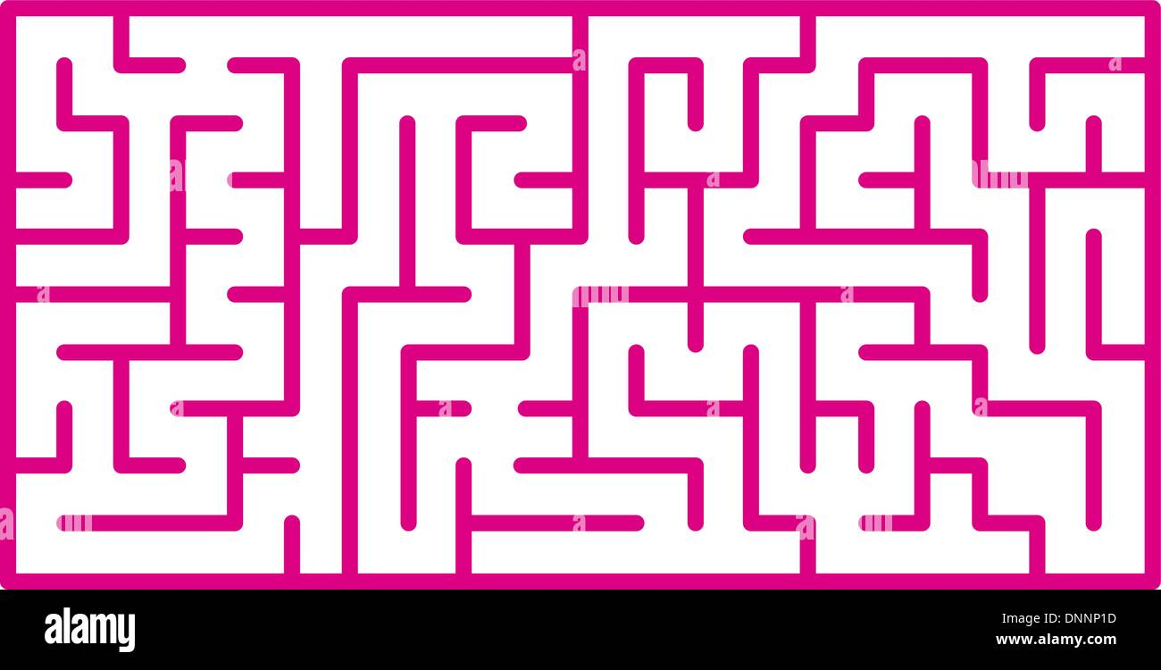 Maze - Stock Image