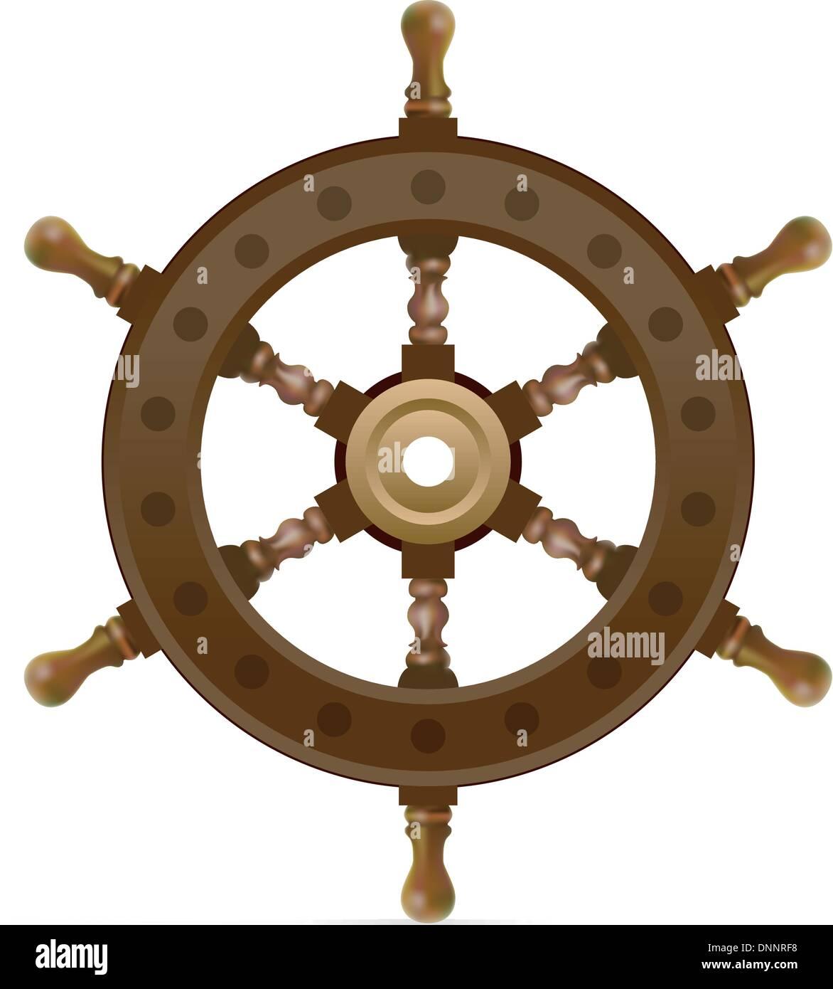 steering control - Stock Image