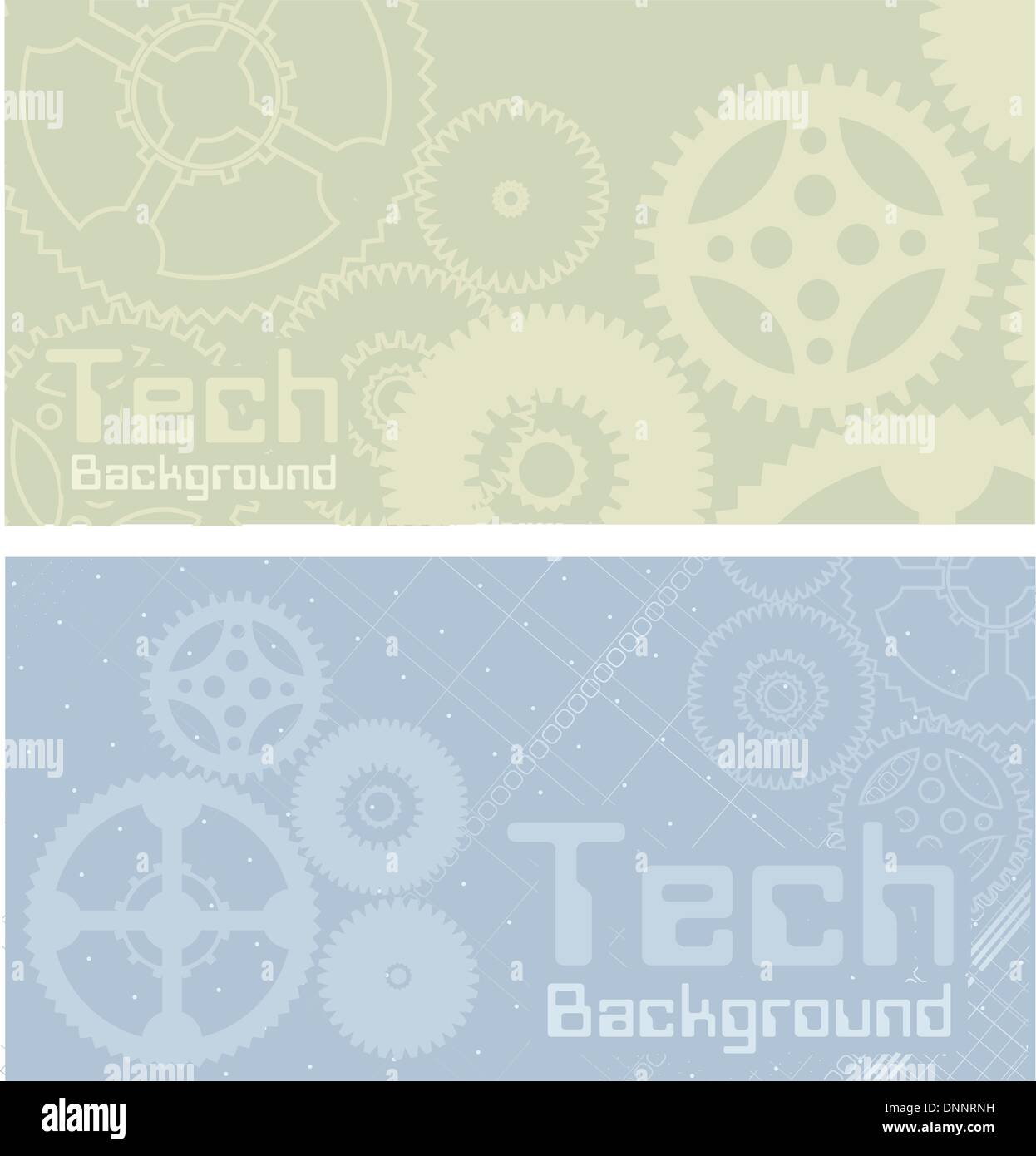 Vector backgrounds, technology, machine, industry - Stock Image