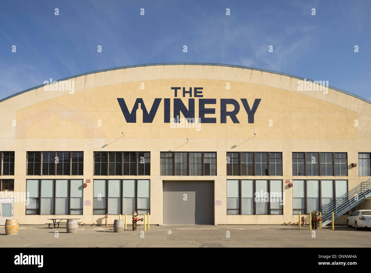 The Winery SF. - Stock Image