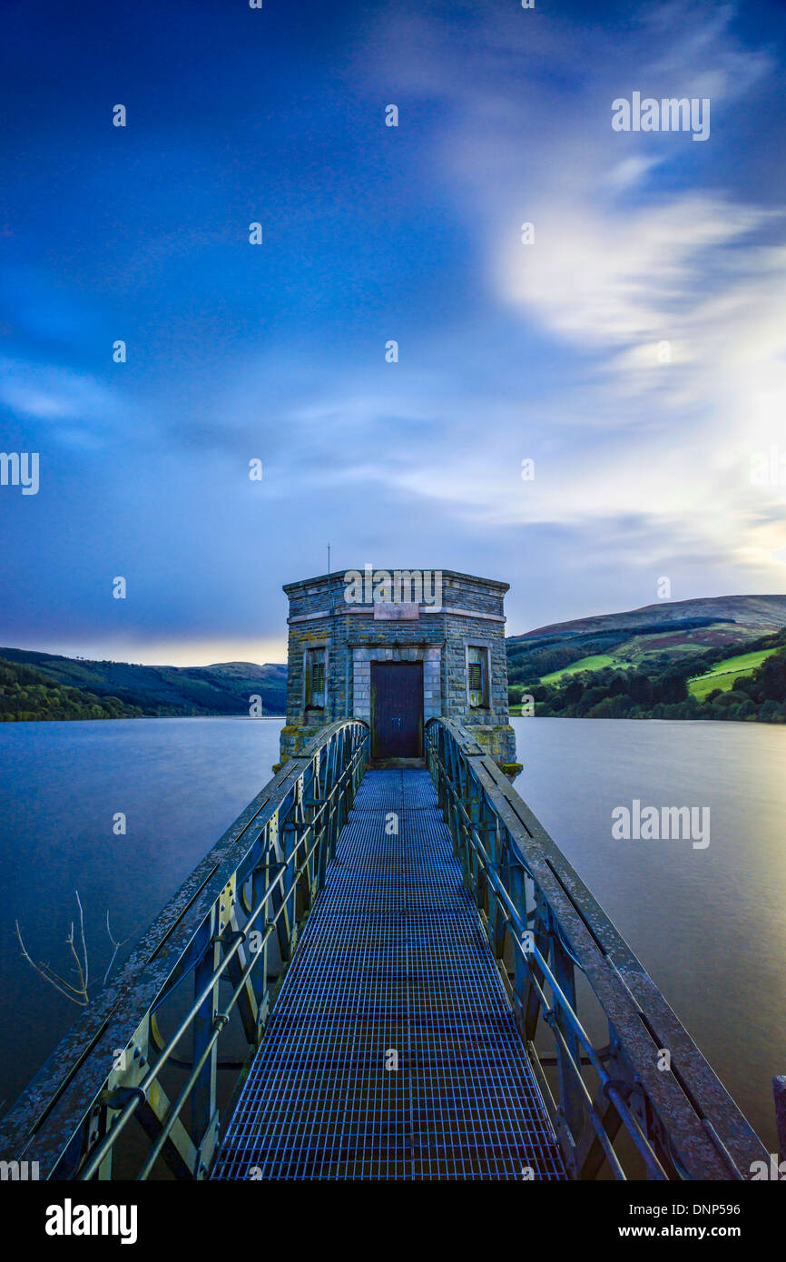 Talybont Reservoir, Wales UK - Stock Image