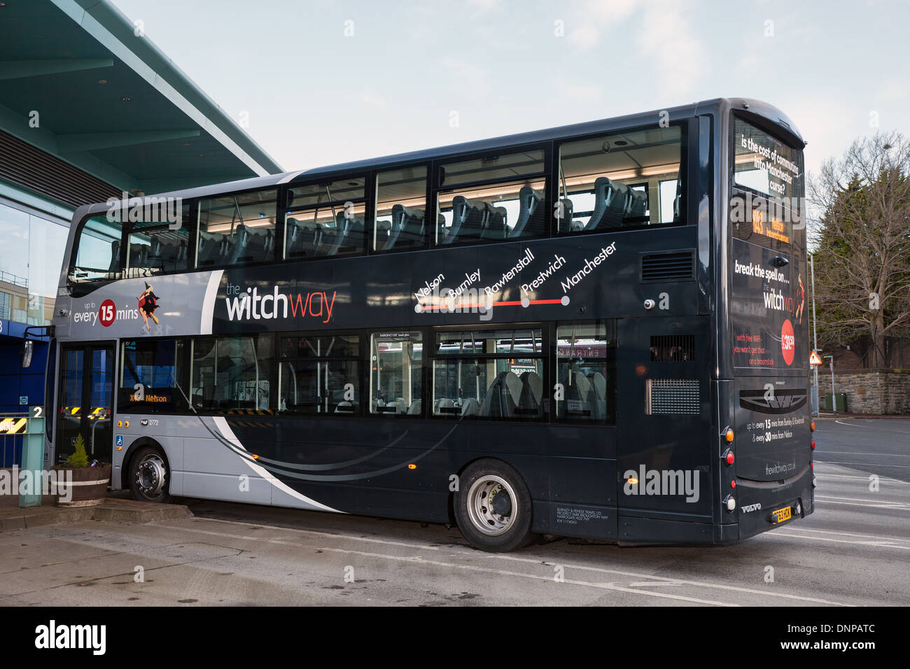 volvo wright gemini witch way buses on long standing bus route x43