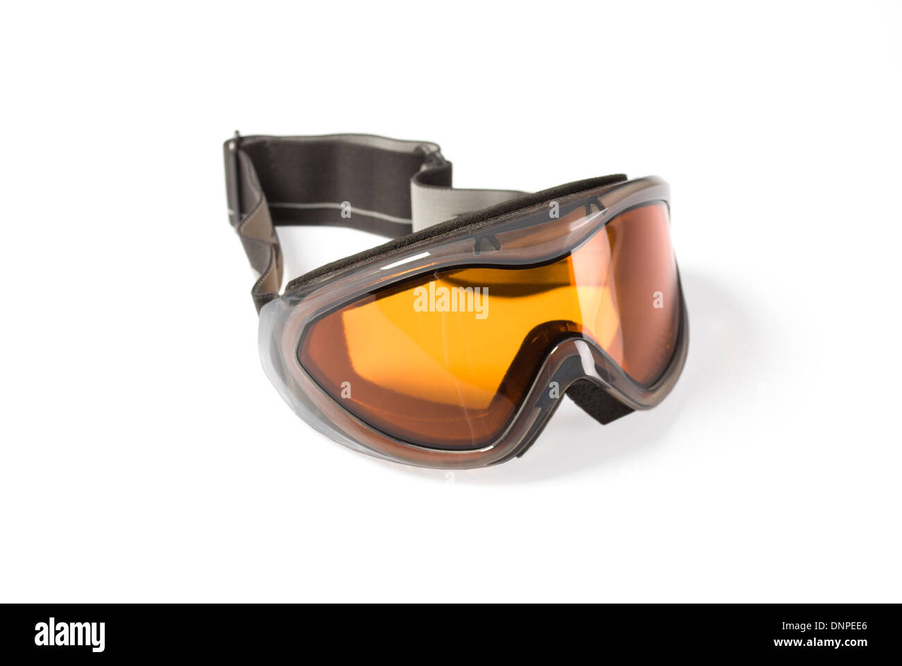 goggles for snowboarding or skiing - Stock Image