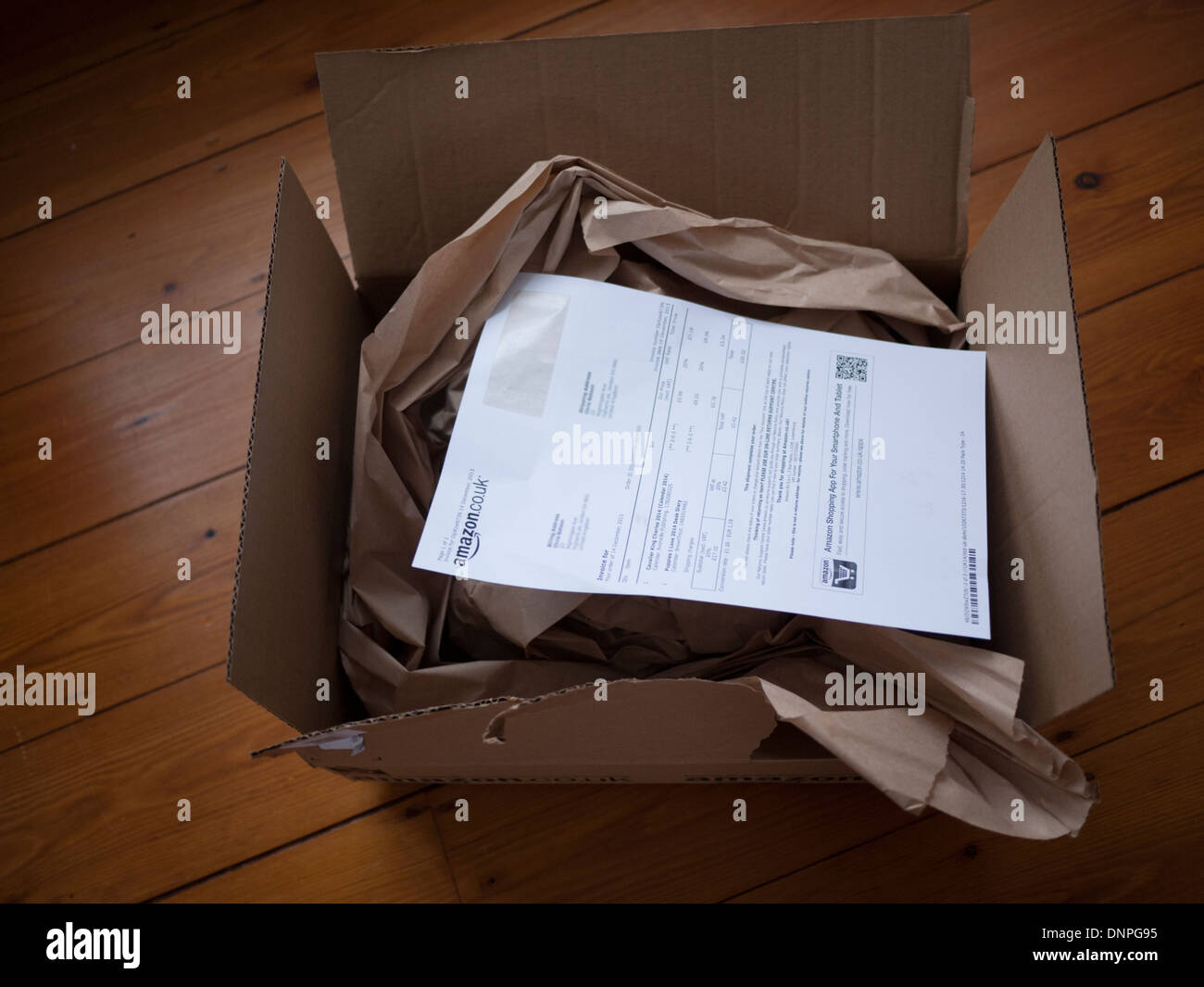 Amazon Box Open High Resolution Stock Photography And Images Alamy