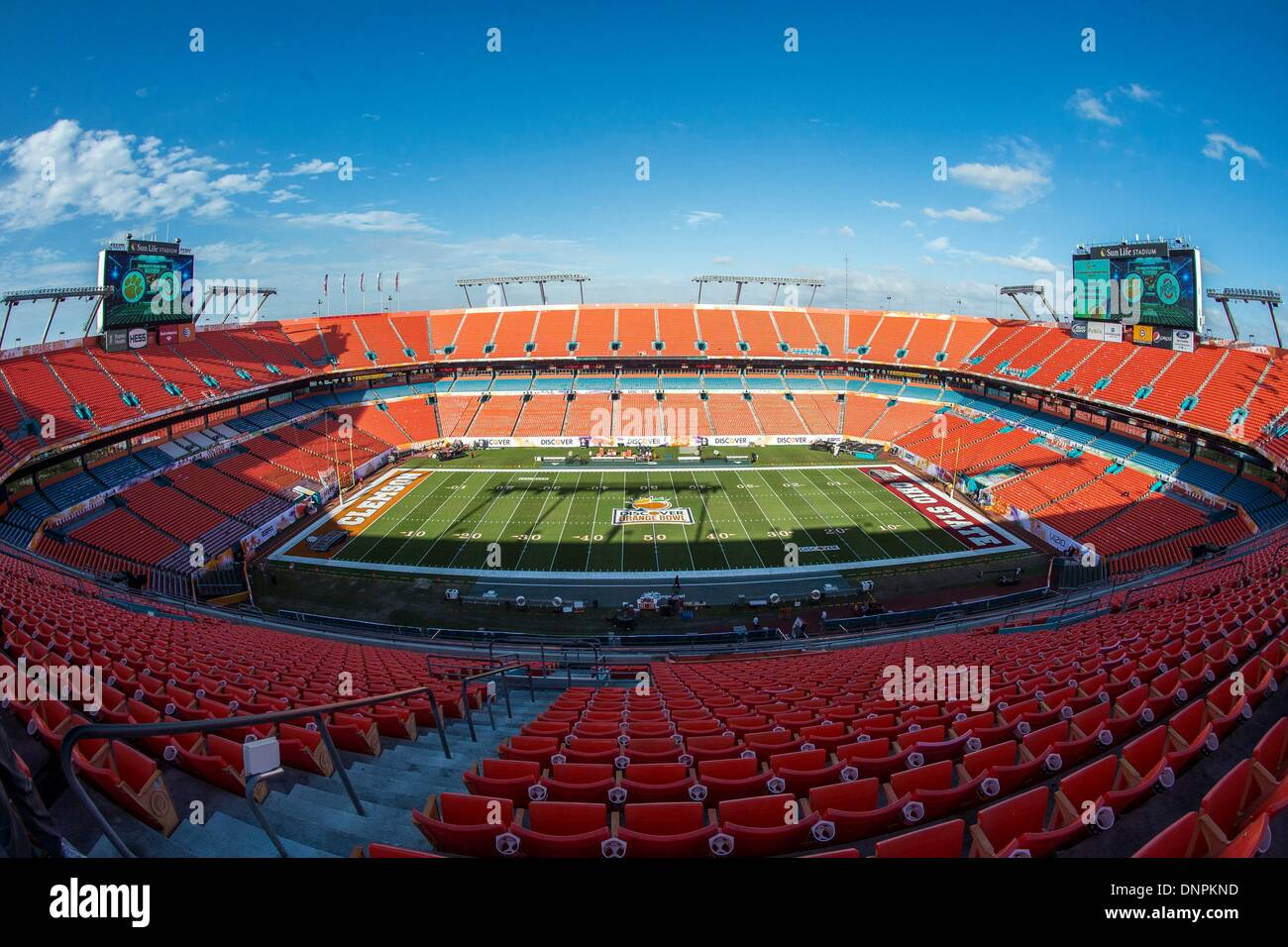 Wonderful S: Sun Life Stadium Before The Discover Orange Bowl Game Between The  Clemson Tigers And The Ohio State Buckeyes At Sun Life Stadium In Miami  Gardens, Fl ... Photo