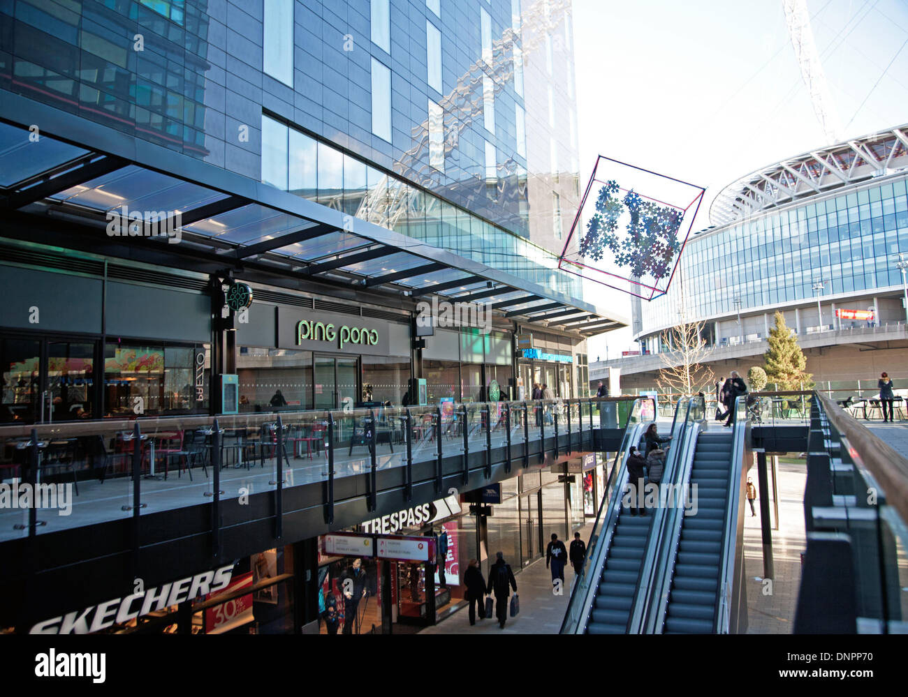 b510f9d5cd3b20 London Designer Outlet Wembley Stock Photos   London Designer Outlet ...