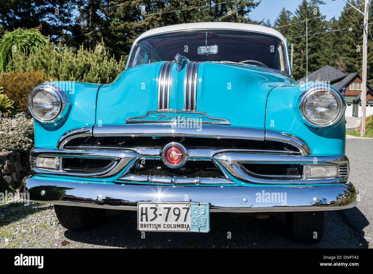 1953 Pontiac Chieftain Sedan Stock Photo Alamy