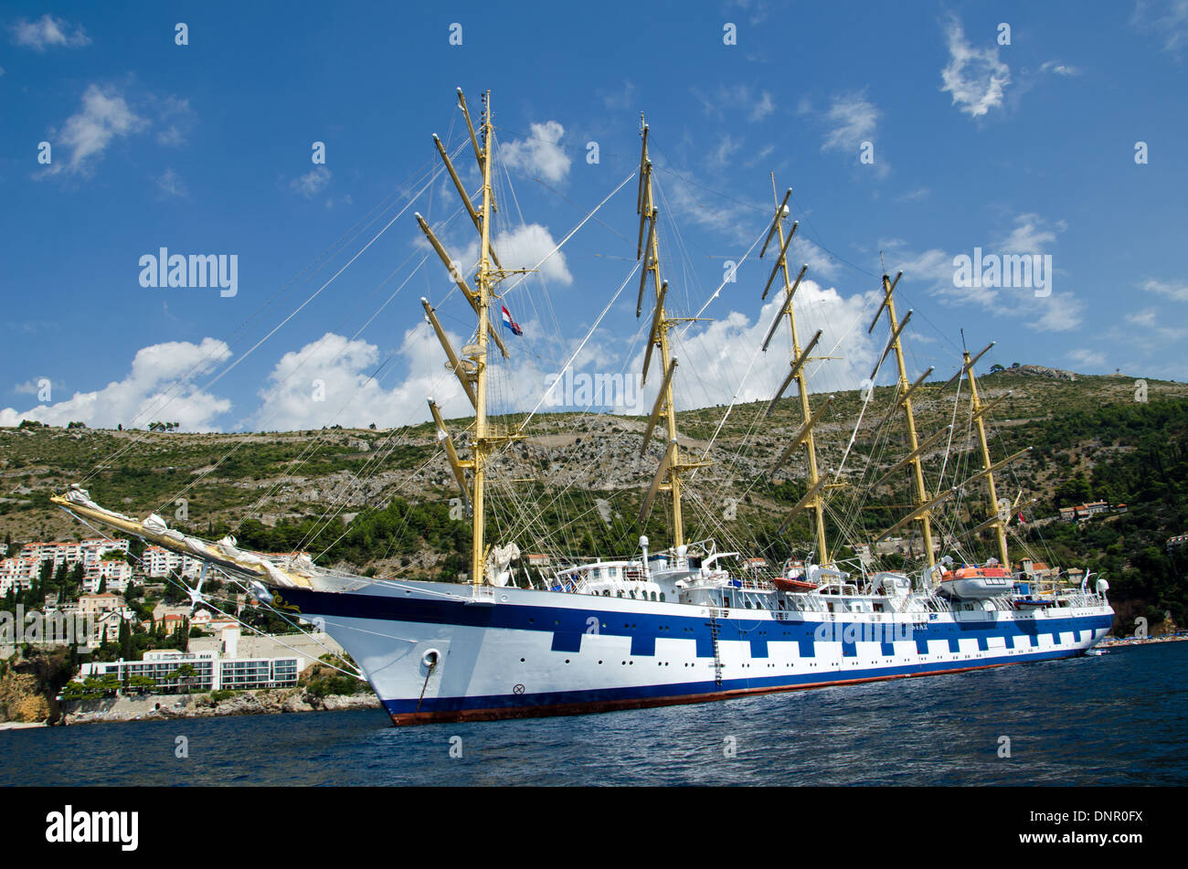 Sailors in the port - Stock Image