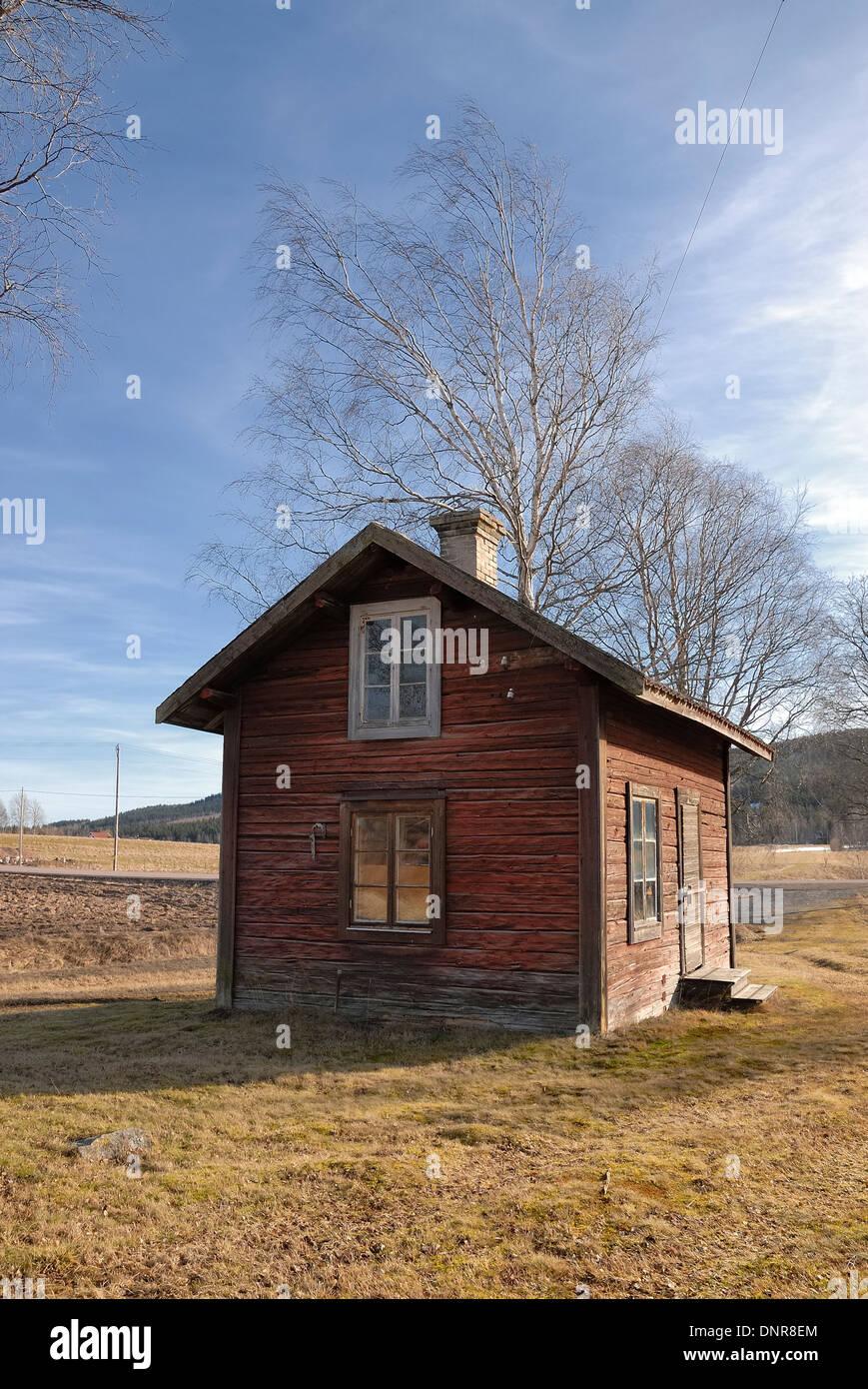 Abandon house - Stock Image