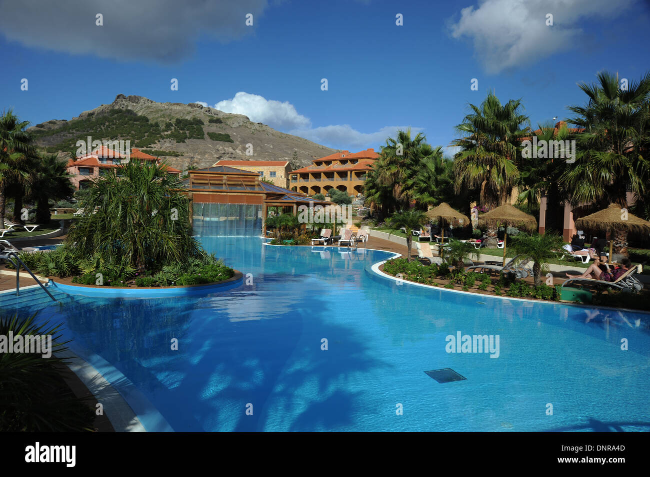The Pestana Hotel Porto Santo near Madeira Europe - Stock Image