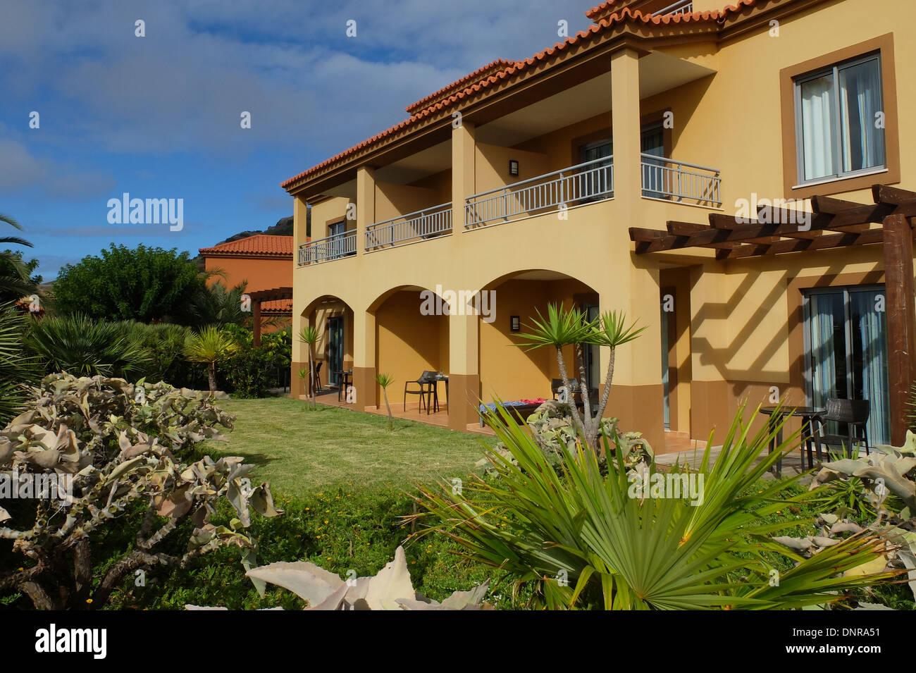The Pestana Hotel Porto Santo near Madeira Europe - Stock Image