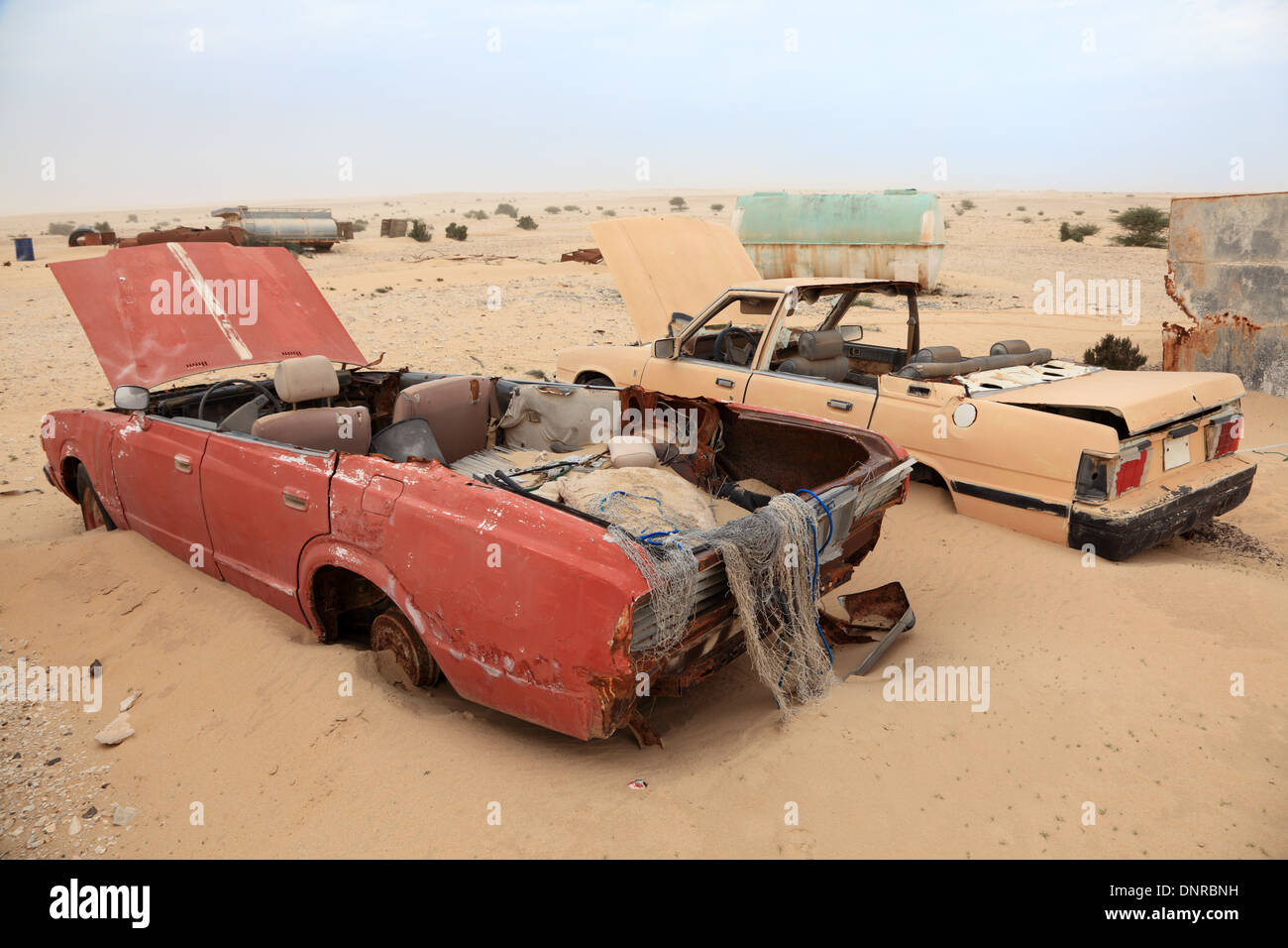 Abandoned Car In Desert High Resolution Stock Photography And Images Alamy