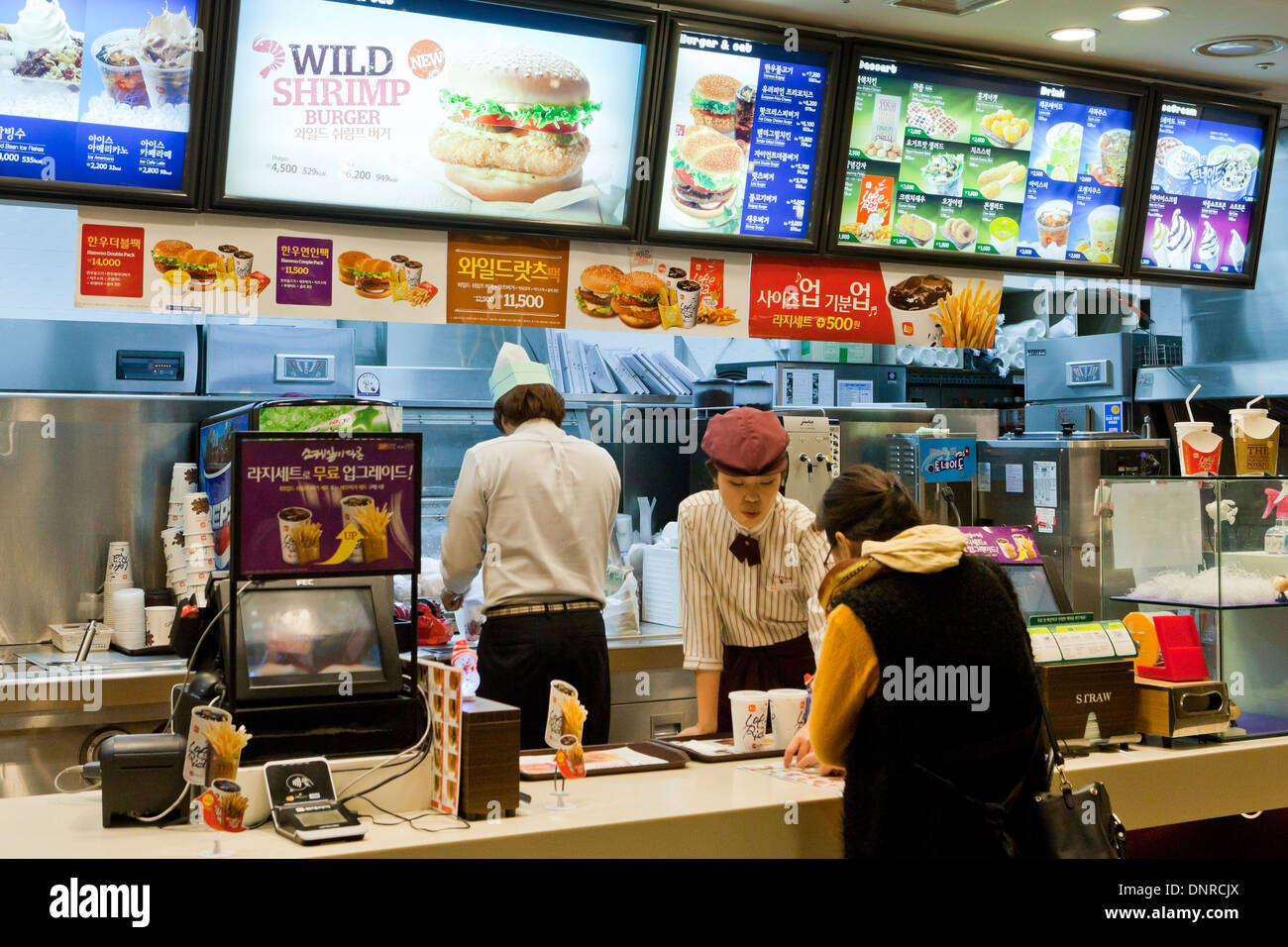 Fast Burger Food Truck