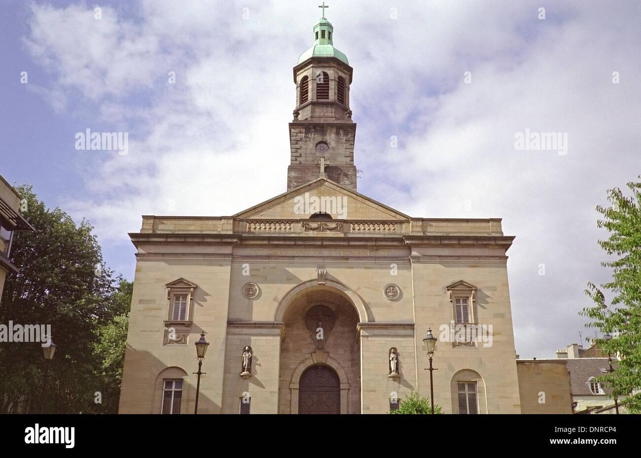 St Patrick's Parish Roman Catholic Church, South Gray's Close, High Street, Edinburgh, Scotland, UK - Stock Image