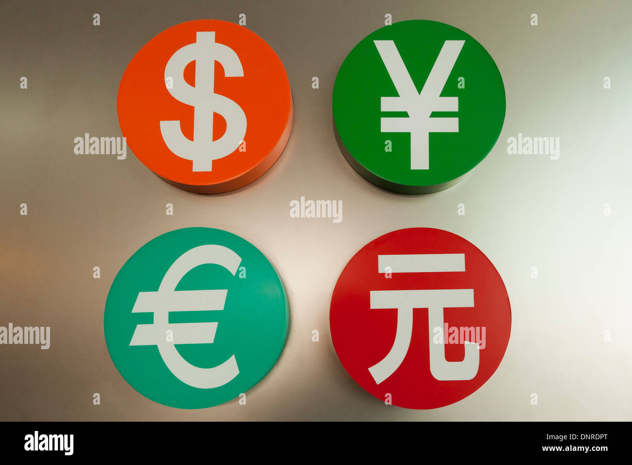 Foreign Currencies Exchange Stock Photos & Foreign