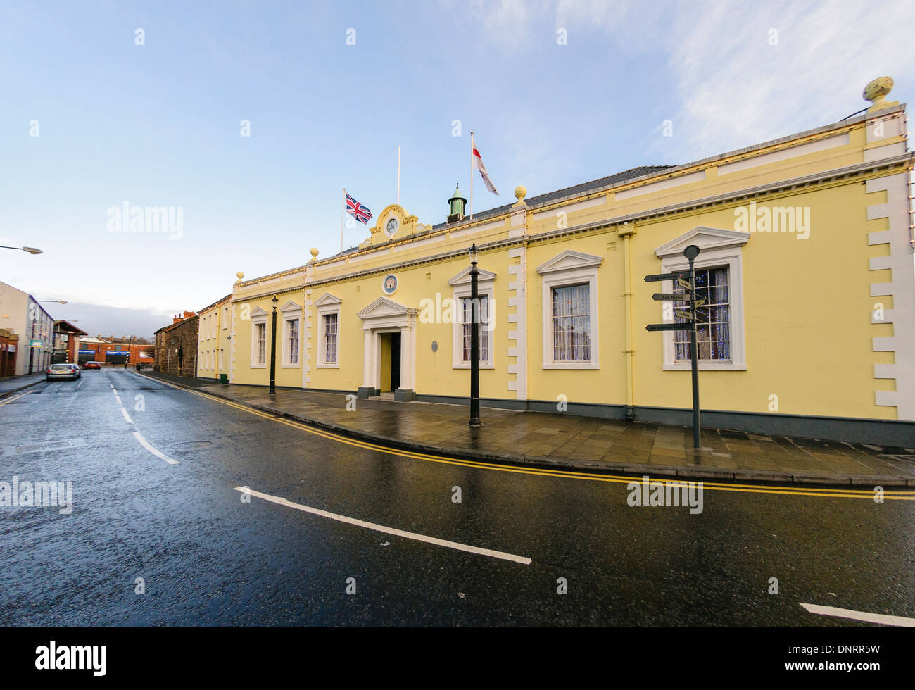 Carrickfergus Town Hall - Stock Image
