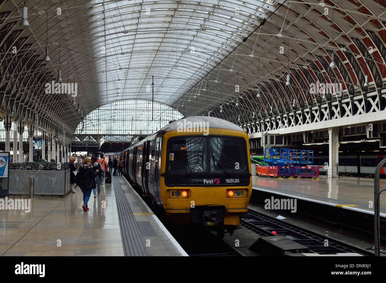 Paddington Station, London W2, United Kingdom - Stock Image