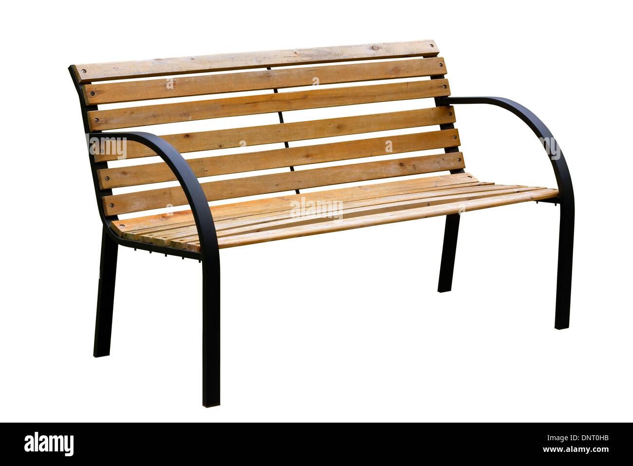 Marvelous Wooden Weathered Yellow Garden Bench With Metal Legs Uwap Interior Chair Design Uwaporg