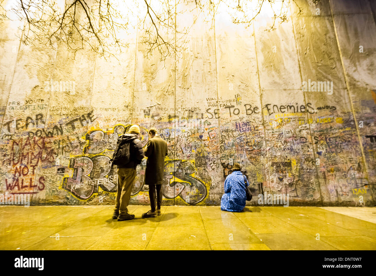 Bethlehem Wall Art Installation Stock Photos & Bethlehem Wall Art ...