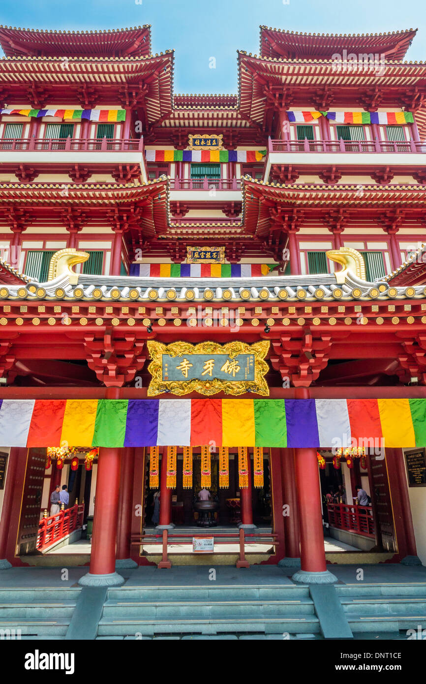 Buddha Tooth Relic Temple and Museum, Singapore - Stock Image