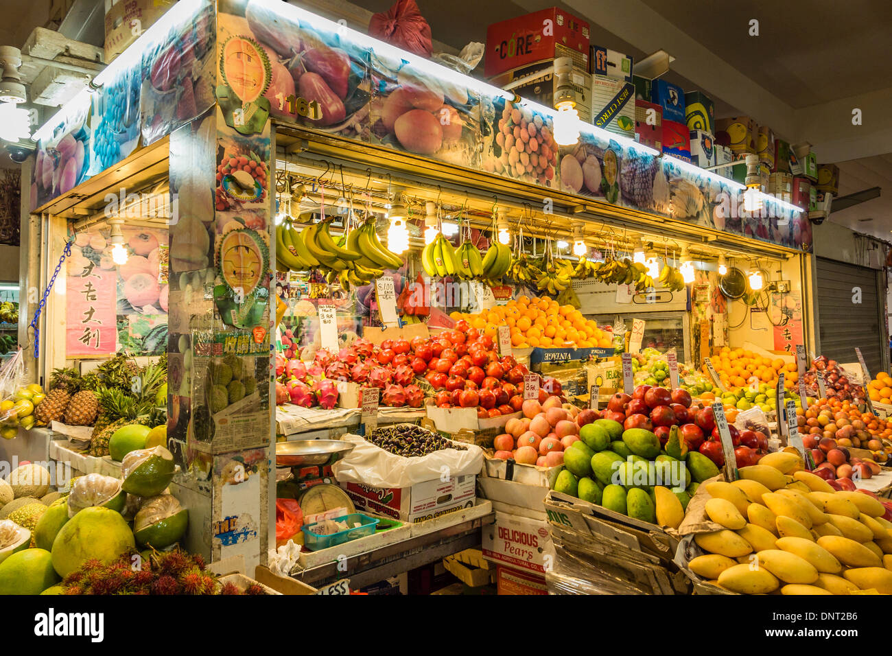 fruit stall in little india market tekka centre singapore stock photo 65067610 alamy. Black Bedroom Furniture Sets. Home Design Ideas