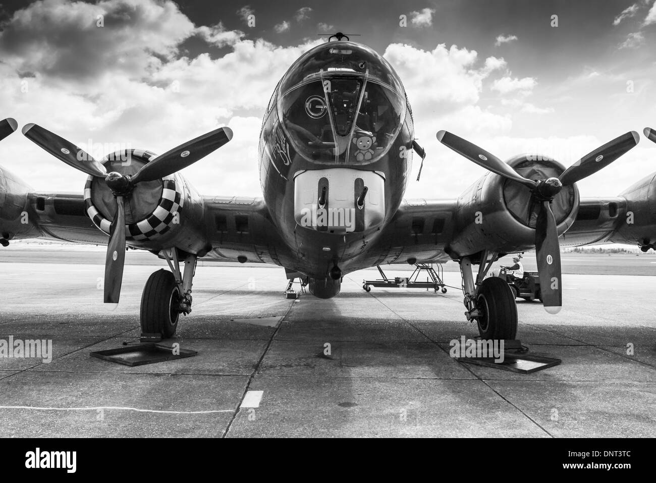 Memphis Belle B-17 Flying Fortress - Stock Image