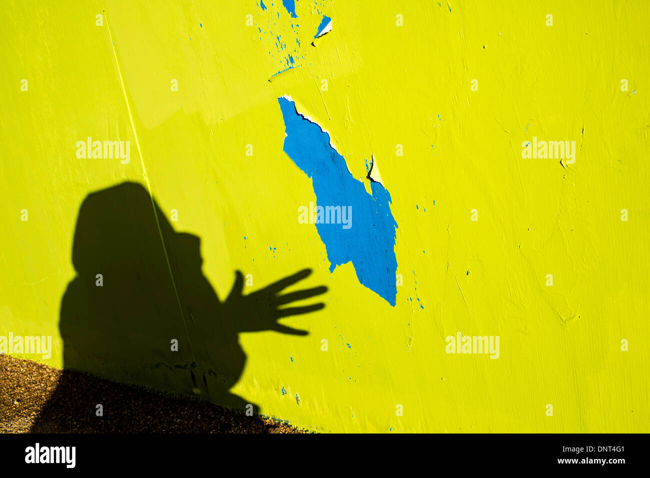 Shadow Art Wall Hand Stock Photos & Shadow Art Wall Hand Stock ...