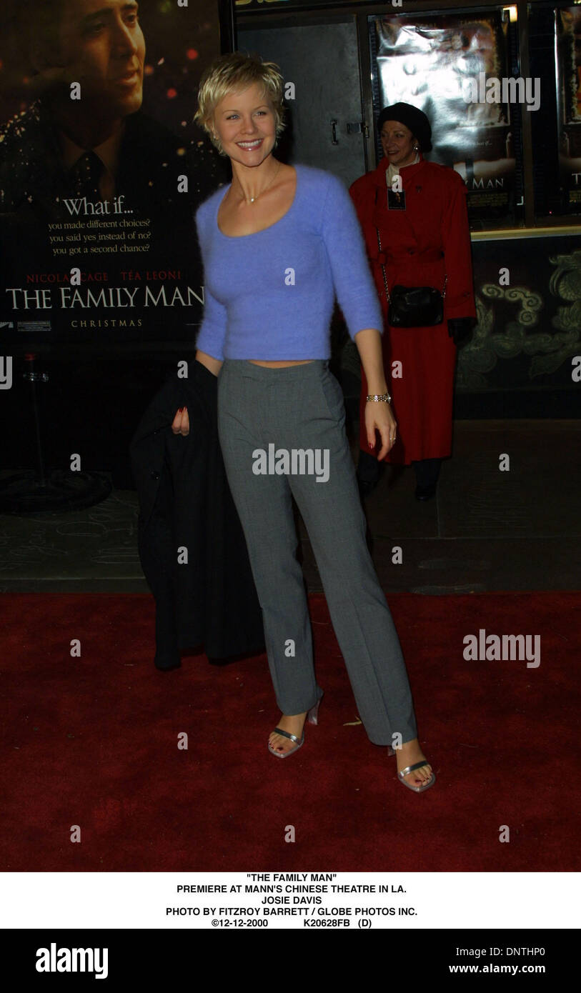 Dec. 12, 2000 - \'\'THE FAMILY MAN\'\'.PREMIERE AT MANN\'S CHINESE ...