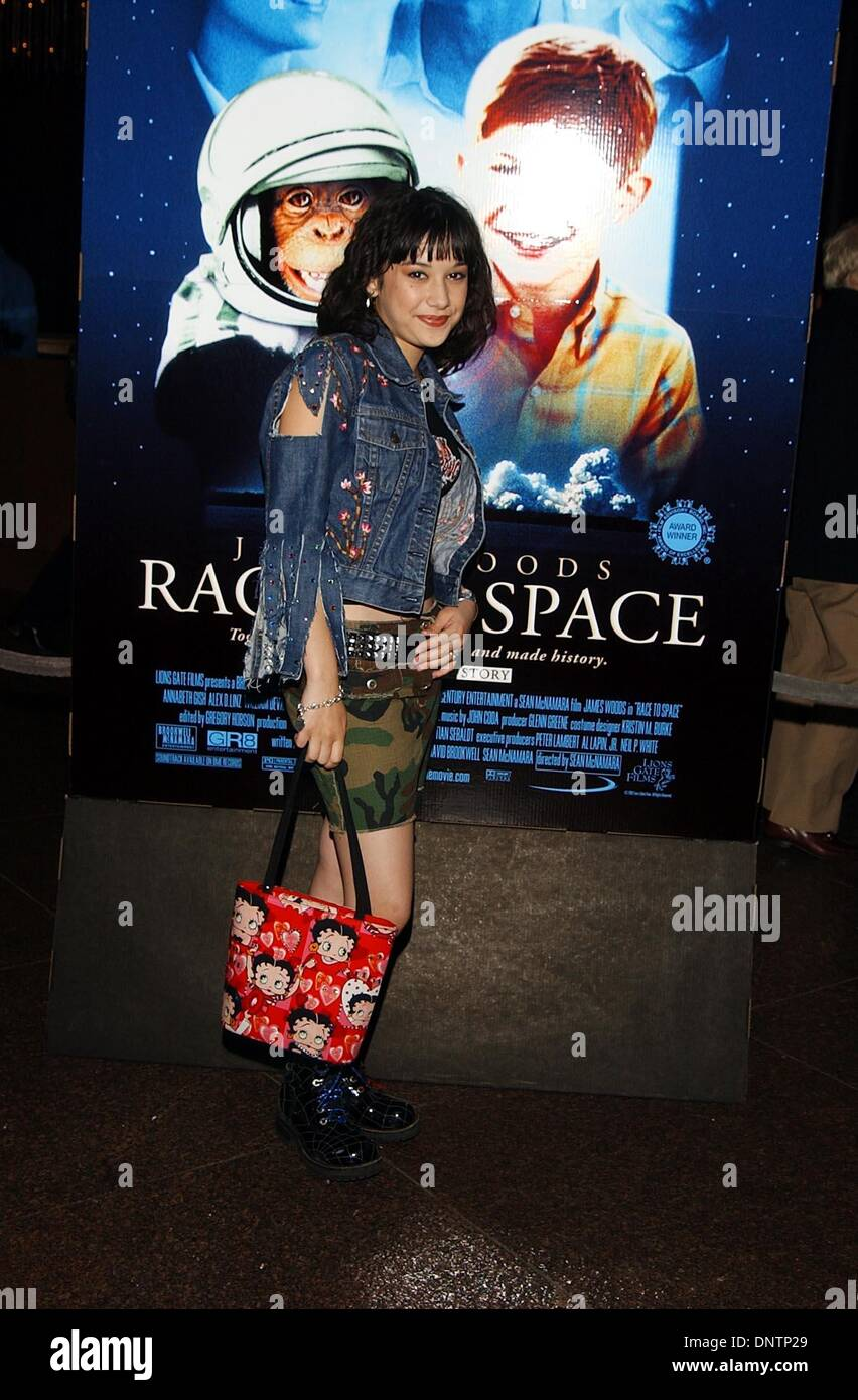 Mar. 13, 2002 - K24384AG: RACE TO SPACE SCREENING.DGA, LA, CA 03/13/2002.  AMY GRAVES/   2002.(D).LALAINE(Credit Stock Photo