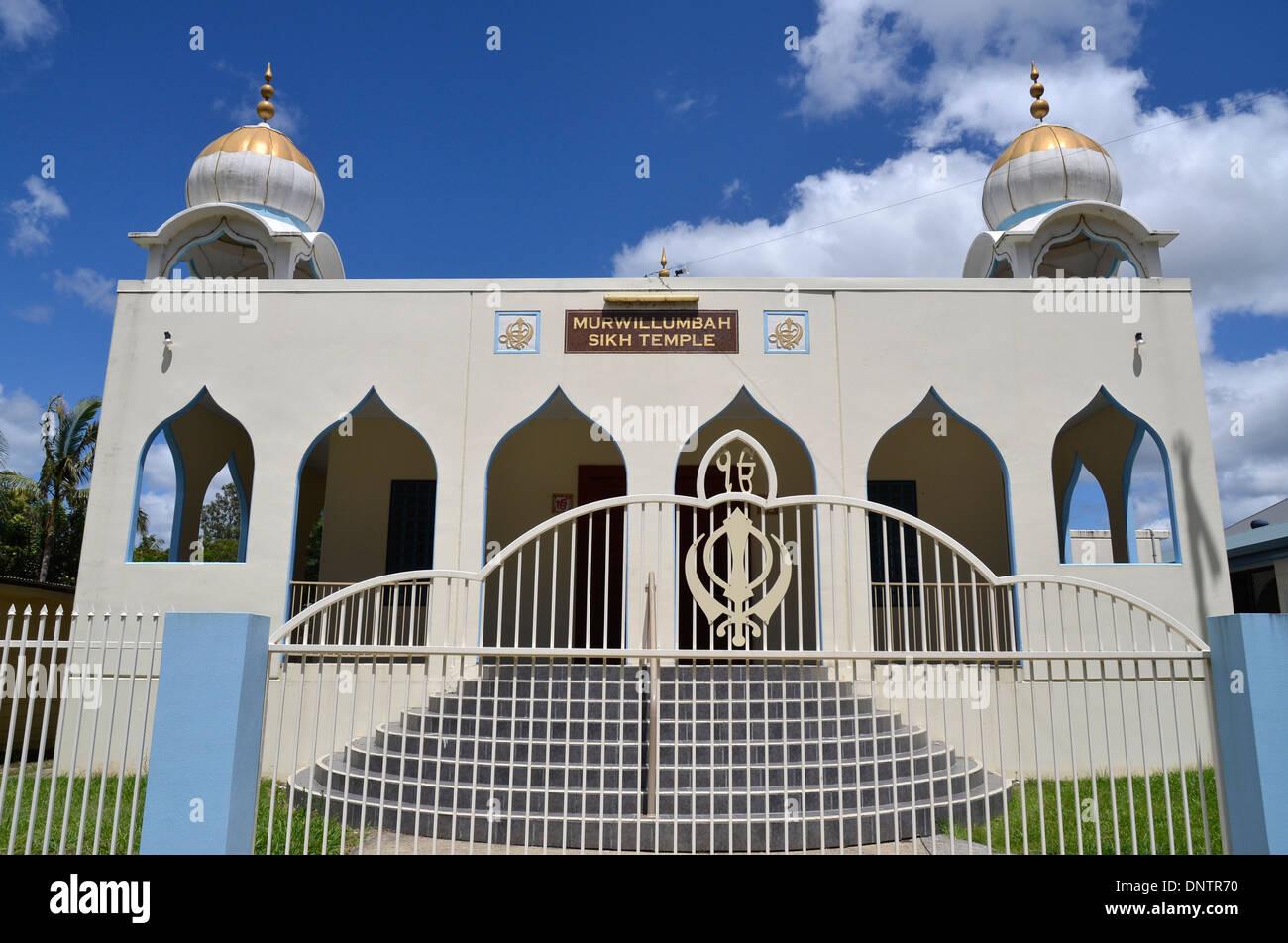 Guru Nanak Sikh Temple - Murwillumbah , nsw, australia - Stock Image