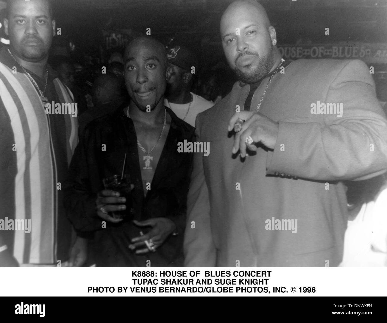 Jan 3 2001 k8688 house of blues concert tupac shakur and