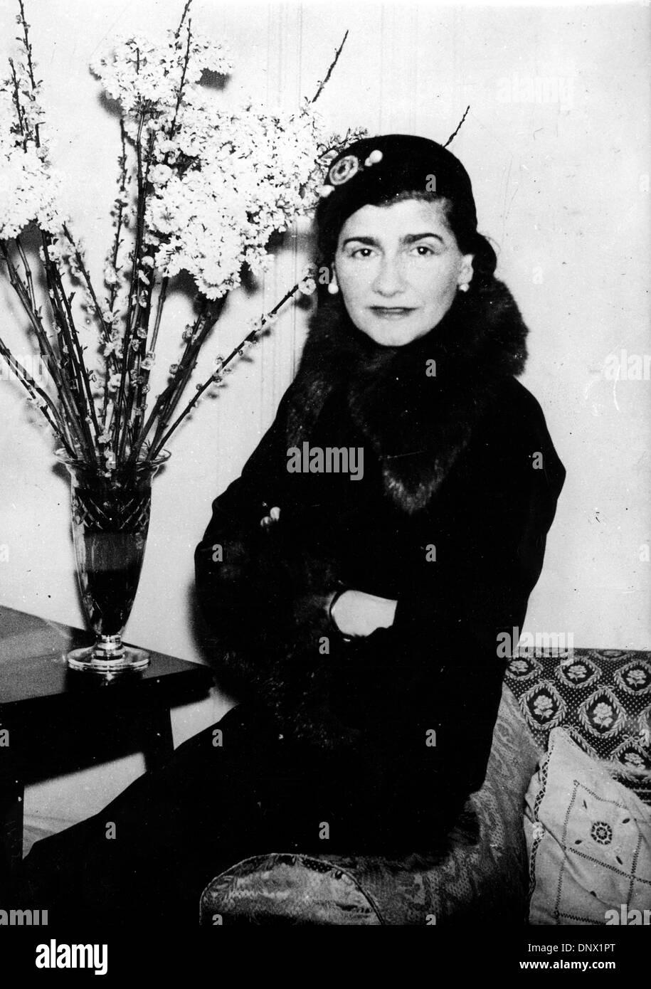 0479aa993d3e76 23, 1932 - London, England, U.K. - COCO CHANEL (born Gabrielle Bonheur  Chanel) was a pioneering French fashion designer whose modernist  philosophy, ...