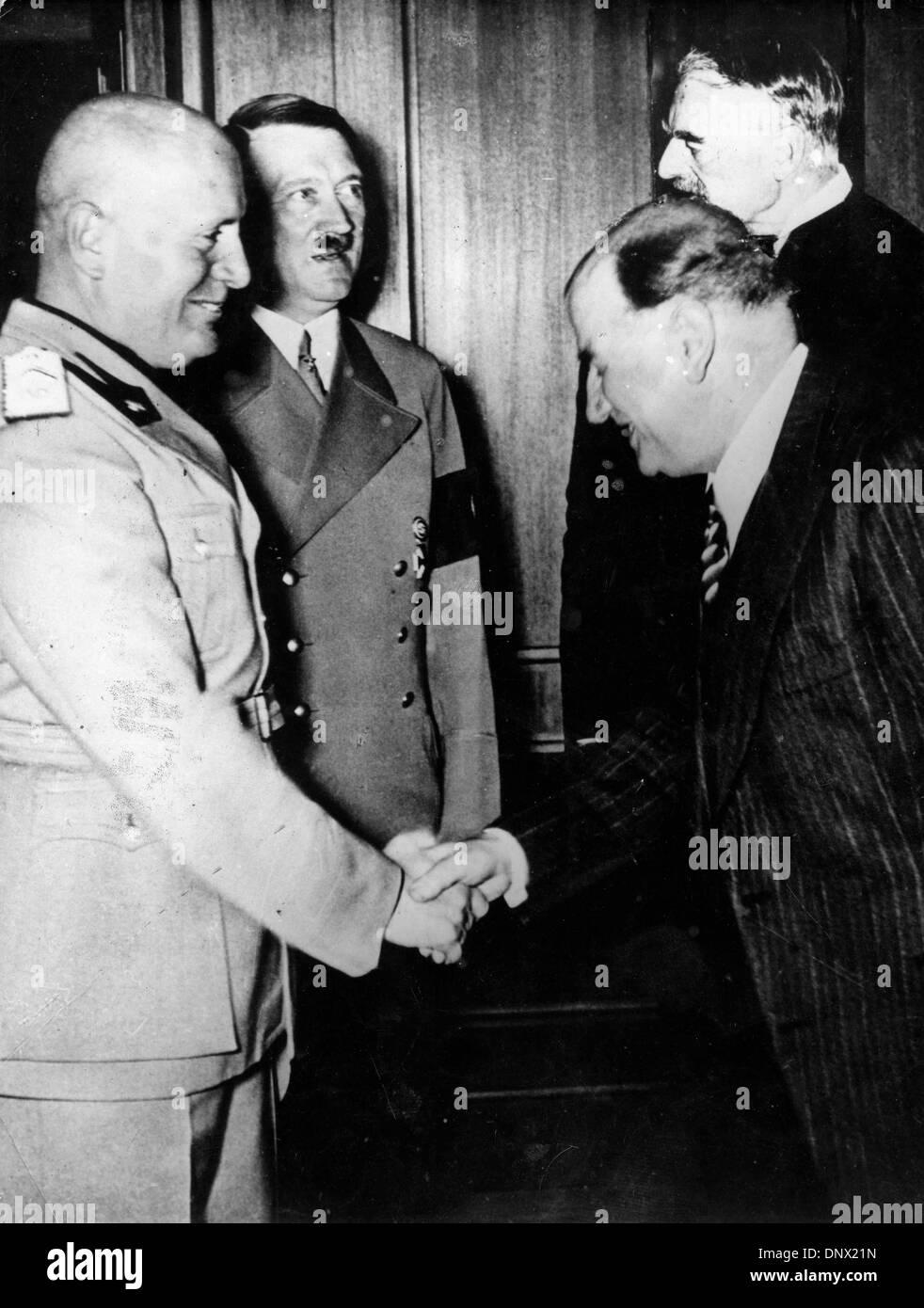 Munich Agreement 1938 Stock Photos Munich Agreement 1938 Stock