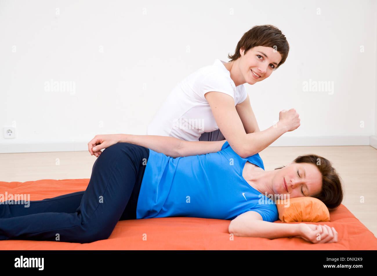 Hara Shiatsu Alternative Health Consciousness Treatment