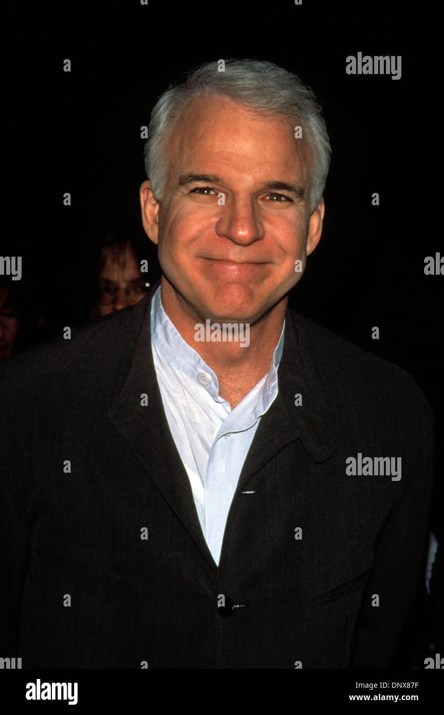 March 29, 1996 - Hollywood, California, U.S. - K4392FB.STEVE MARTIN.''Sgt. Bilko'' Premiere. 03/29/1996(Credit - Stock Image