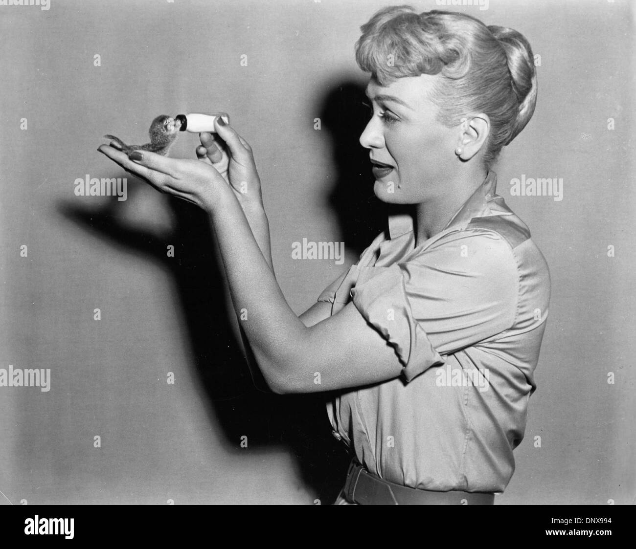 6ca7e8f8 July 2, 1956 - EVE ARDEN. Our Miss Brooks 1956.(Credit Image ...